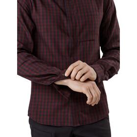 Arc'teryx Bernal Camiseta Manga Larga Hombre, black baccara